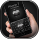 Keyboard for Phone 7 Black by Keyboard Design Paradise