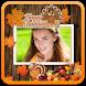 Happy Thanksgiving Photo Frame by Papaya Apps Studio