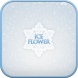 Ice flower go launcher theme by IThemeShop