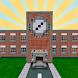 The School Minecraft Map by BestOFF