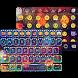 Luminous Emoji Keyboard Theme by Colorful Art