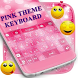 Pink Glitter Theme - Cute Bowknot Keyboard by Clash of Keyboard Themes