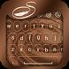 Chocolate Keyboard Theme by Stylish Keyboard App