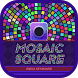 Mosaic Square Theme&Emoji Keyboard by Fun Emoji Theme Creator