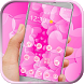 Pink heart theme icon packs by Graceful Live wallpaper studio