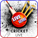 CricTrack-Cricket Live Score Ball By Ball Update by Insha Apps Studio