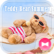 Cute Wallpaper Teddy Bear Summer Theme by +HOME by Ateam