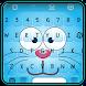 Emoji Keyboard - Blue Cat Theme by Best Themes Team