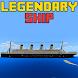 The Titan Ship Minecraft Map by BestOFF