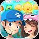 Rescue Pets pop match 3 puzzle by LvlApp studio