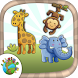 Color jungle animals by Meza Apps