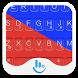 Blue Neon Emoji Keyboard Theme by Fashion Cute Emoji
