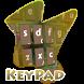 Artist Nest Keypad Cover by Alpha Themes