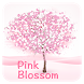Pink Blossom Keyboard by Cool Keyboard Theme Studio