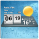 3D Digital Weather Clock by Factory Widgets
