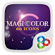 Magic Color GO Launcher Theme by Freedom Design