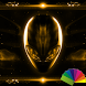 Alien Gold Xperien Theme by Arjun Arora