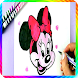 How to Draw Mickey Mouse - Step Esay by kidsaps