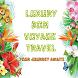 Luxury Bon Voyage Travel App by inktelesis.us