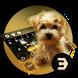 Cute dog with big eyes animal keyboard by Bestheme Keyboard Designer