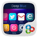 Deep Blue GO Launcher Theme by Freedom Design