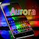 Aurora Keyboard Theme by hot keyboard themes