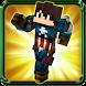 Skins superhero for MC pe by vkgames
