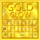 GO Keyboard Gold Glow Theme by Inner Works Studios