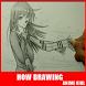Cara Menggambar Gadis Anime by Kangodi