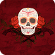 Mexican Skull Wallpaper by GoldenWallpapers
