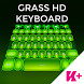 Keyboard Grass HD by BestKeyboardThemes
