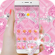 Pink rose heart-shaped theme by Christina_Liang