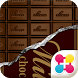CHOCOLATE BAR Wallpaper Theme by +HOME by Ateam