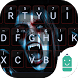 Vampire Girl Emoji Keyboard by Best Keyboard Theme Design