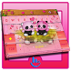 Cute Panda Fun Keyboard Theme by Beautiful Heart Design
