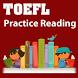 Toefl reading test by Mr Sam
