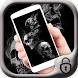 Black smoke skull theme by Free new hot colorful themes