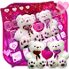 Lovely Pink Teddy Bear Keyboard by Super Cool Keyboard Theme