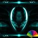 Alien Teal Xperien Theme by Arjun Arora