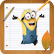 How To Draw despicable Me characters Step By Step