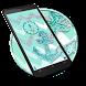 Anchor chevron glitter theme by cool theme designer