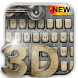 3D Machinery Keyboard by Keyboard Design Paradise