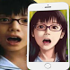 anime face manga by samoapp
