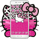 Pink Silver Diamond Leopard Kitty Theme by Angela Themes