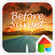 Sunset LINE Launcher Theme by Camp Mobile for dodol theme