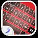 Emoji Keyboard-New Style Red by EmojiTheme