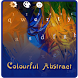 Abstract Art Painting Theme by M Typewriter Theme Studio
