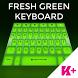 Keyboard Fresh Green by BestKeyboardThemes