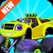 Blaze In Monster Truck Climb by KidsZonia