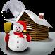 Christmas Snowman - Wallpaper by Paris Software